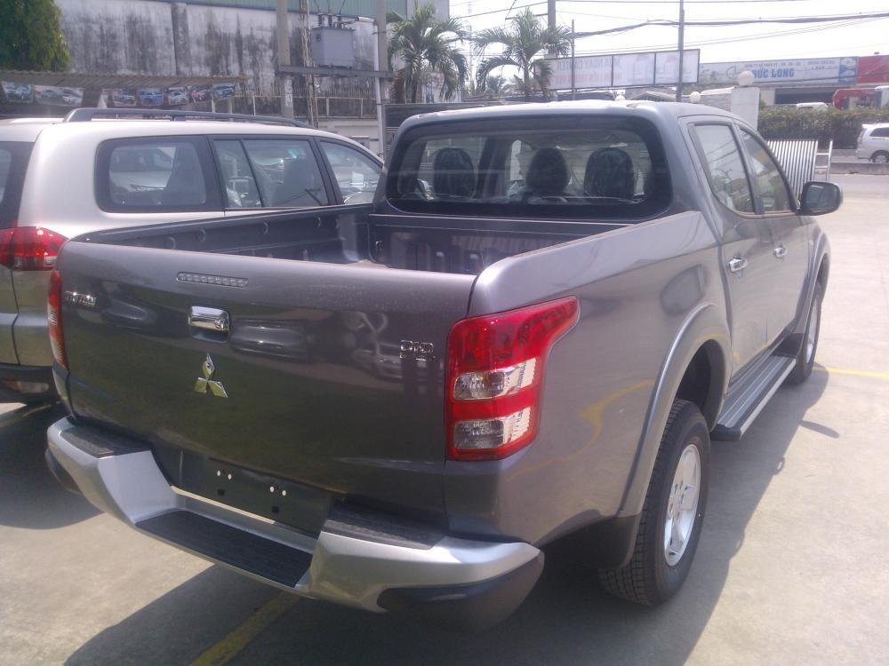 Bán xe Mitsubishi Triton 4x2 MT sản xuất 2016, màu xám, nhập khẩu, 595 triệu