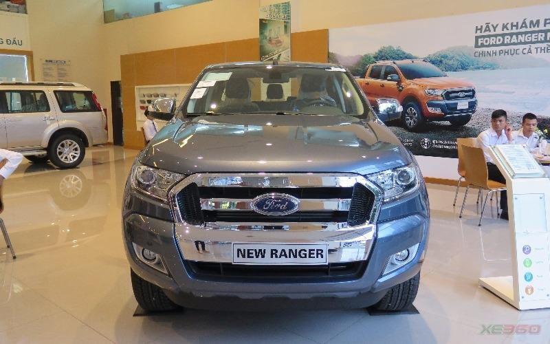 Bán xe Ford Ranger đời 2016, bản XLT 4x4 MT liên hệ để mua với giá tốt