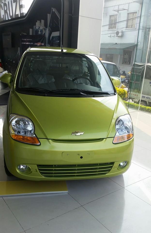 Chevrolet Spark giá rẻ, dòng xe đô thị tiết kiệm nhiên liệu hàng đầu