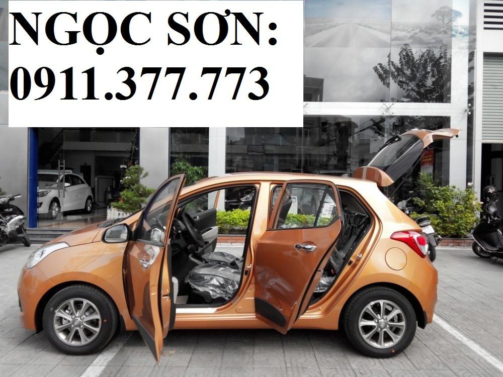 Cần bán xe Hyundai Grand i10 mới, màu cam 2016, xe nhập, giá chỉ 358 triệu