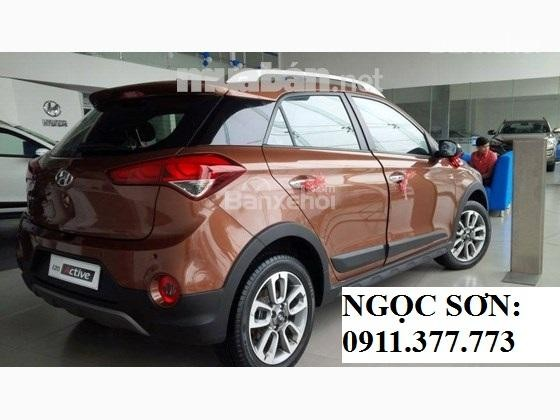 Bán xe Hyundai i20 Active mới 2016, màu nâu, nhập khẩu nguyên chiếc, 596 triệu