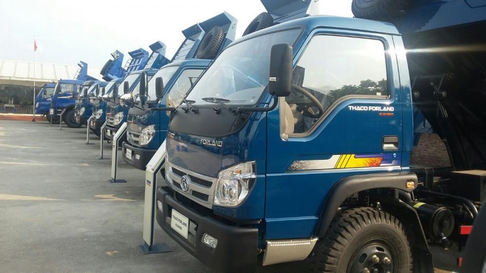 Giá Xe ben 5 tấn thaco Trường Hải FLD490C  mới nâng tải 2017 - LH: 0982536148