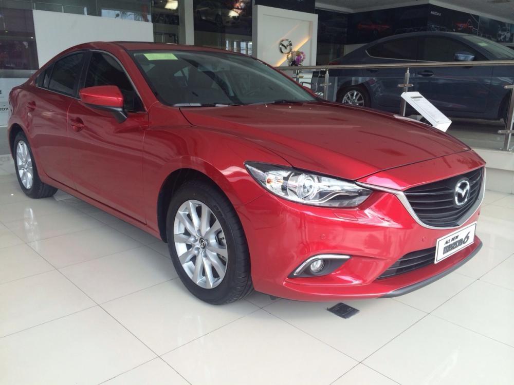 Bán ô tô Mazda 6 2.0l năm 2016, màu đỏ, giá 965tr