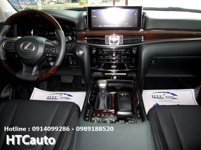 Bán xe Lexus LX 570 2016, màu bạc, nhập Mỹ