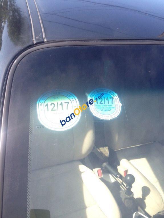 Bán Daewoo Gentra đời 2009, màu đen