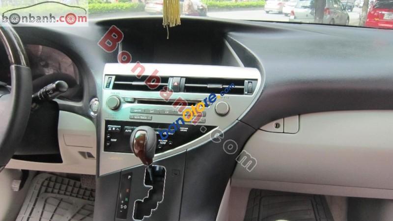 Cần bán lại xe Lexus RX 350 đời 2009, màu đen, xe nhập