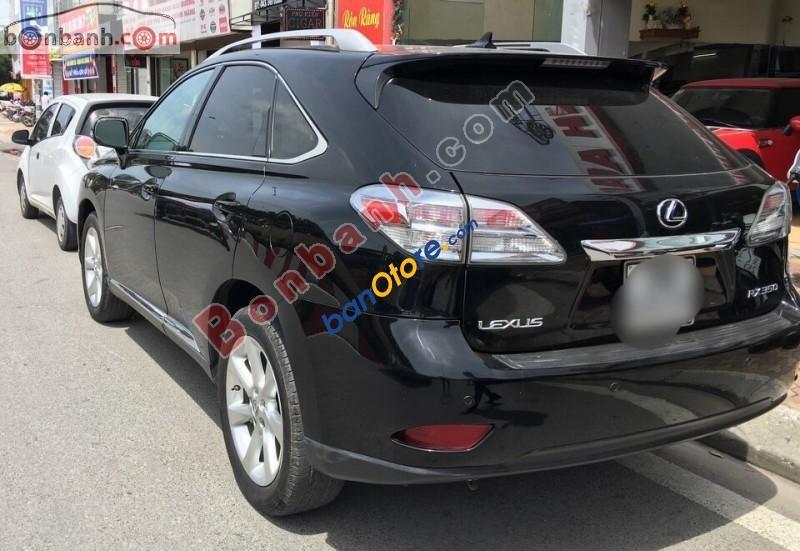 Cần bán lại xe Lexus RX 350 đời 2009, màu đen, nhập khẩu đẹp như mới