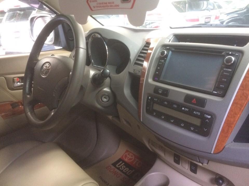 Fortuner 2.694cc, sản xuất 2009, màu bạc, máy xăng
