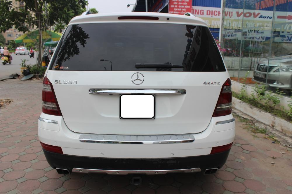 Bán Mercedes GL 550 2008, màu trắng, xe nhập