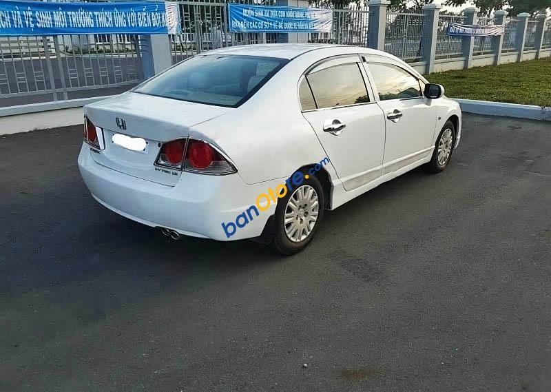 Xe Honda Civic 1.8MT đời 2008, màu trắng, 418 triệu cần bán