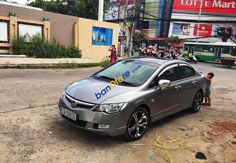 Cần bán xe Honda Civic 1.8MT đời 2008, màu xám