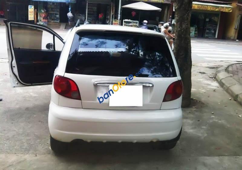 Cần bán xe cũ Daewoo Matiz SE năm 2007, màu trắng, nhập khẩu chính hãng