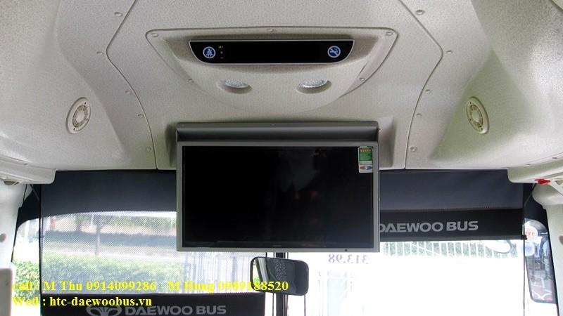 xe khách 47 chỗ daewoo fx120 đời 2016
