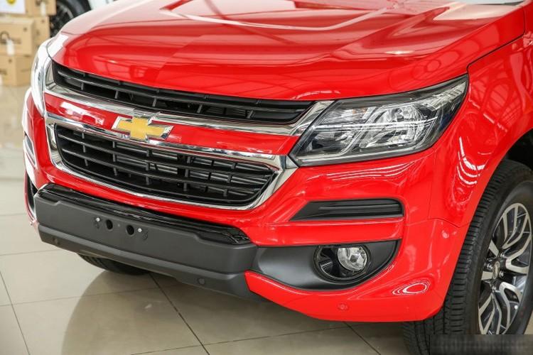Bán Chevrolet Colorado đời 2016, màu đỏ, xe nhập