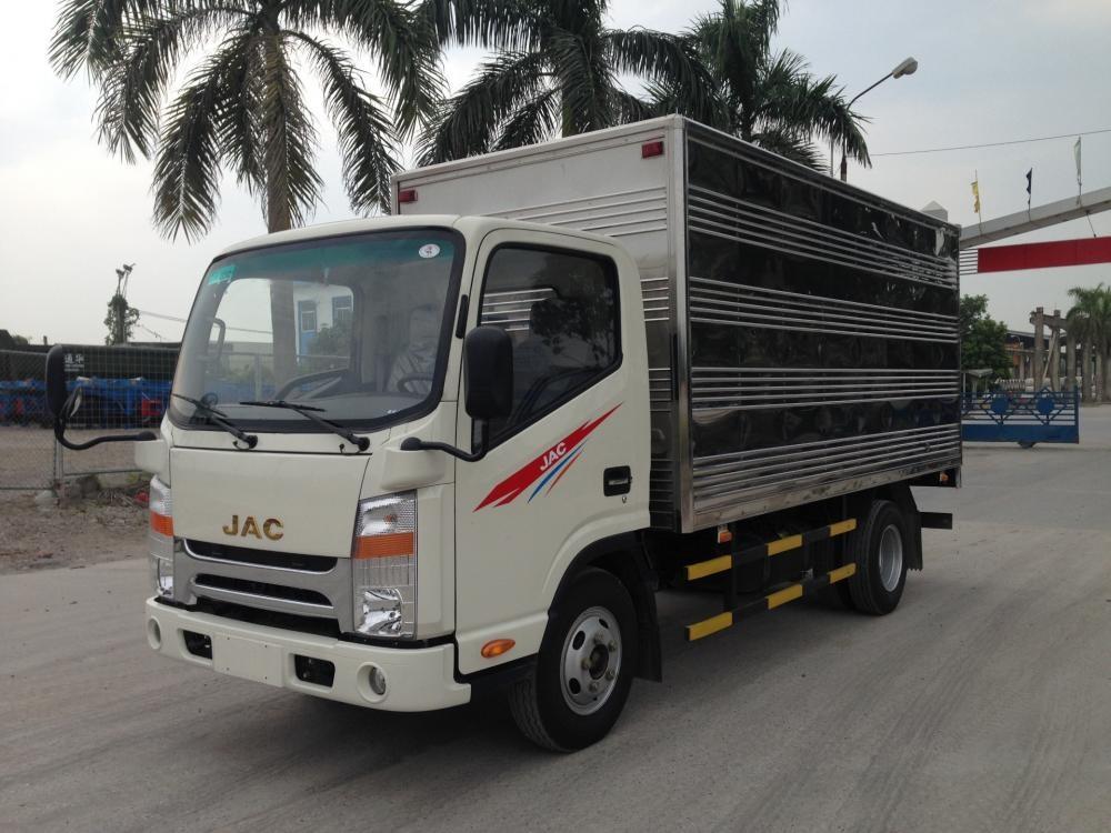 Bán xe tải JAC 1,9 tấn 2 tấn cabin ISUZU mới Thái bình