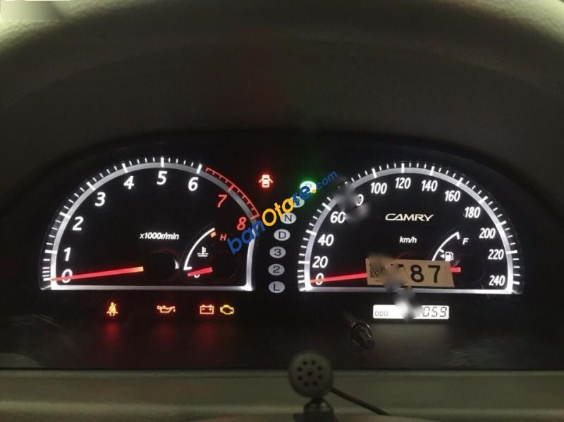 Cần bán gấp Toyota Camry 3.0 V6 đời 2006, màu đen chính chủ, giá 660tr