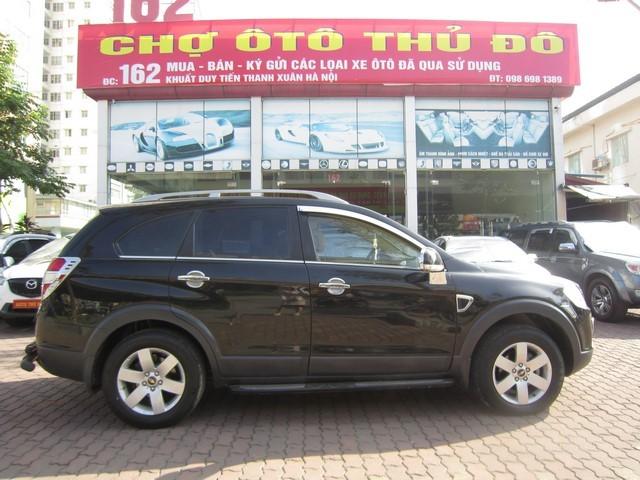 Cần bán xe Chevrolet Captiva 2008, màu đen, 369 triệu