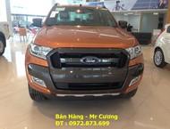 Cần bán xe Ford Ranger Wildtrak 3.2 AT 2016, màu đỏ, xe nhập giá cạnh tranh