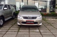 Cần bán xe Toyota Innova E đời 2013, màu nâu vàng, giá còn thương lượng giá 720 triệu tại Tp.HCM