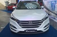 Cần bán xe Hyundai Tucson sản xuất 2015, màu trắng, giá chỉ 905 triệu giá 905 triệu tại Hà Nội