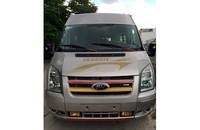 Cần bán Ford Transit 2013, máy dầu, 16 chỗ, màu hồng phấn giá 675 triệu tại Tp.HCM