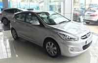 Cần bán xe Hyundai Accent 1.4AT năm 2015, màu bạc, nhập khẩu nguyên chiếc, giá chỉ 570 triệu giá 570 triệu tại Hà Nội