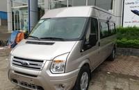 Đại Lý Hà Thành Ford bán xe Ford Transit tiêu chuẩn sản xuất 2015, màu ghi vàng, giá 815tr giá 815 triệu tại Hà Nội