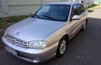 Cần bán gấp Kia Spectra đời 2003, màu bạc, nhập khẩu chính hãng   giá 168 triệu tại Tp.HCM