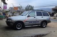 Cần bán xe Ssangyong Musso MT năm 2002, màu bạc giá 190 triệu tại Lâm Đồng
