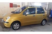 Daewoo Matiz, sản xuất 1999, đăng ký 2000, màu vàng, ghế da, 4 mâm đúc cần bán giá 115 triệu tại Tp.HCM