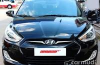 Xe Hyundai Accent 1.4 2013 cũ màu đen đang được bán  giá 492 triệu tại Tp.HCM