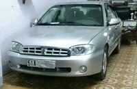 Cần bán Kia Spectra đời 2004, màu bạc, nhập khẩu, xe gia đình giá 177 triệu tại Tp.HCM