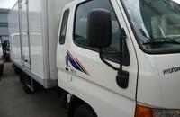 Cần bán xe tải Hyundai HD 72 2015, xe thùng nhập khẩu giá 930 triệu tại Tp.HCM