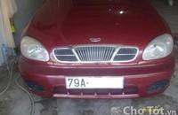 Bán xe Deawoo Lanos 2002, sơn rin còn 50% giá 125 triệu tại Khánh Hòa