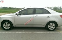 Cần bán gấp Kia Cerato sản xuất 2009, màu bạc, nhập khẩu chính hãng số tự động giá 460 triệu tại Hà Nội