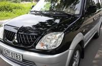 Mitsubishi Jolie sản xuất và đăng ký 31/12/2004 màu đen bánh treo, biển số TPHCM còn 4 số giá 273 triệu tại Tp.HCM