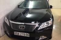Bán Toyota Camry 2.5Q sản xuất 2013, màu đen chính chủ giá 1 tỷ 120 tr tại Hà Nội