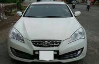 Cần bán Hyundai Genesis 2009, màu trắng, nhập khẩu nguyên chiếc, giá chỉ 599 triệu giá 599 triệu tại Tp.HCM