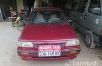 Xe Kia Pride CD5 2001 cũ màu đỏ đang được bán giá 95 triệu tại Hà Nội