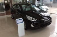 Bán ô tô Hyundai Accent Blue 1.4AT 2015, màu đen, nhập khẩu nguyên chiếc, giao xe ngay giá 588 triệu tại Hà Nội
