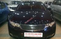 Bán xe Kia Cerato 1.6 số tự động, máy xăng, nhập khẩu Hàn Quốc, sản xuất 2011, màu đen giá 550 triệu tại Hà Nội