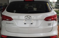 Bán ô tô Hyundai Santa Fe đời 2015, màu bạc giá 1 tỷ 67 tr tại Hà Nội