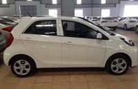 Cần bán Kia Morning EXMT năm 2015, màu trắng, giá tốt, hỗ trợ trả góp 70% giá xe giá 345 triệu tại Hải Phòng
