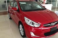 Mình cần bán xe Hyundai Accent Hatback 1.4AT đời 2015, màu đỏ, nhập khẩu, giá tốt nhất, đủ màu, giao xe ngay giá 558 triệu tại Hà Nội