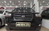 Bán ô tô Hyundai Santa Fe MLX đời 2009, màu đen, xe nhập nguyên chiếc giá 755 triệu tại Hà Nội