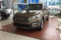 Cần bán xe Hyundai Santa Fe dầu đặc biệt sản xuất 2015, giá tốt nhất, đủ màu, giao xe ngay giá 1 tỷ 275 tr tại Hà Nội