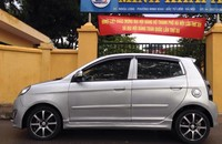 Cần bán Kia Morning slx năm 2010, màu đen, nhập khẩu nguyên chiếc giá 256 triệu tại Hà Nội