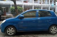 Cần bán Kia Picanto 1.2 AT sản xuất 2007, màu xanh lam, nhập khẩu giá 235 triệu tại Quảng Ninh