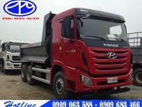 Xe Ben Hyundai Trago 24 tấn - 24000 kg màu đỏ, đời 2015 giá tốt