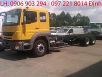 Giá xe tải Fuso 3 chân 24 tấn FJ24R, thông số xe tải Fuso 3 chân FJ 24 tấn máy 6S20 giá rẻ